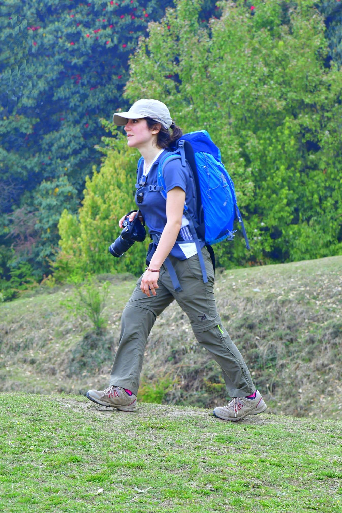 Chopta Trekking Tips -A trekker at Deoriatal
