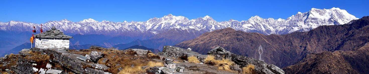 Himalaya From Chandrashila