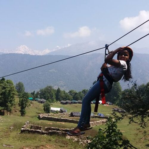 Rope Activities - Flying fox for Small Childrens