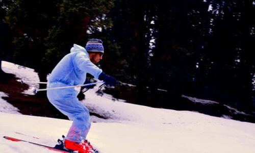 Skiing in chopta - that is the best adventure in chopta during winter